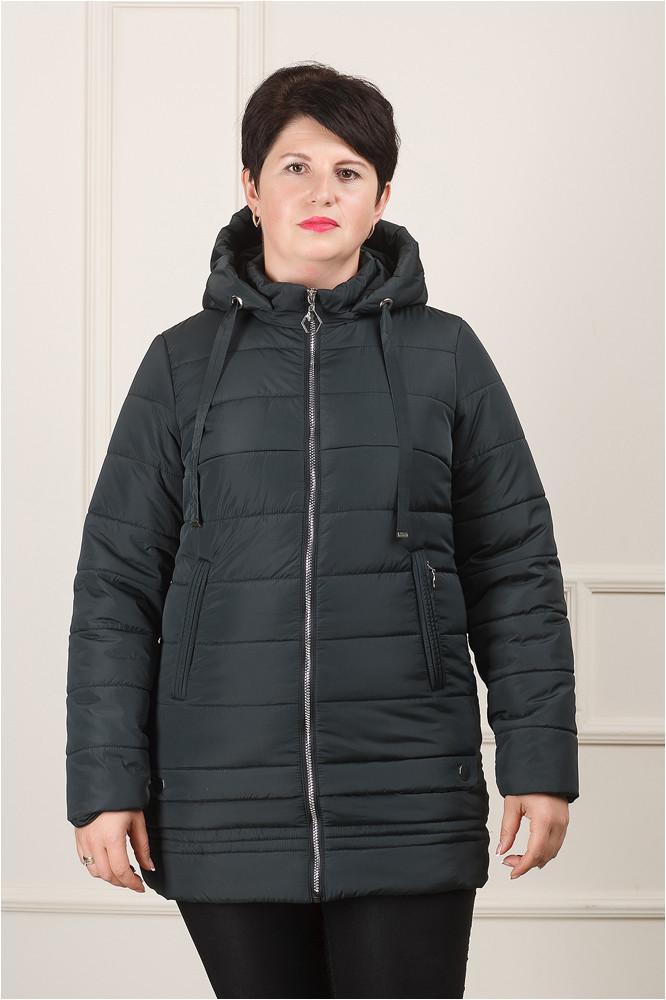 Женская демисезонная куртка Мирта графит