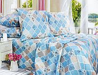 Комплект постельного белья Евро, Бязь-100% хлопок (ЕТ0639)