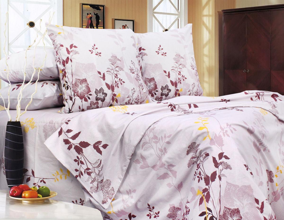 Комплект постельного белья Евро, Бязь-100% хлопок (ЕТ0645)