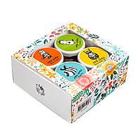 Мед-шмед з 4-х баночок 50г / Мёд-Шмёд / подарунковий набір / подарочный набор