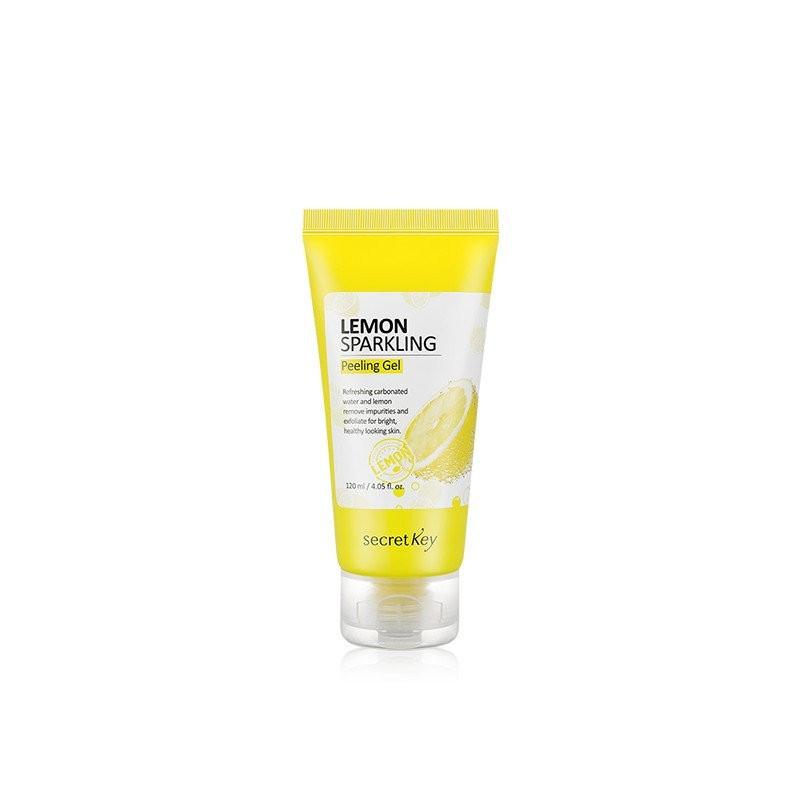 Лимонная пилинг-скатка Secret Key Lemon Sparkling Peeling Gel 120 мл (067)
