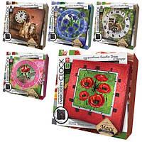 """Набір для творчості """"Embroidery clock""""  (10), EС-01-01, 02, 03, 04, 05"""