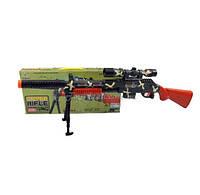 Снайперская винтовка батар.   75см, свет, звук, в коробке 43*4,5*20см