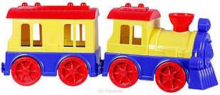 """Іграшка """"Потяг з пасажирським вагоном"""" 48200416"""