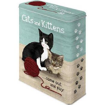 Коробка для хранения Nostalgic-Art Cats & Kittens XL (30301)