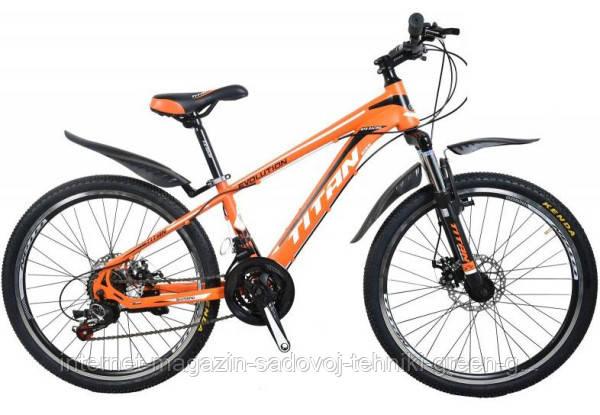 Велосипед Titan Evolution 24″, стальная рама (Украина)