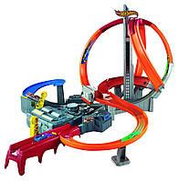 Трек Хот Вилс Головокружительные виражи Штормовое вращение Вихрь Hot Wheels Spin Storm Track Set, фото 1