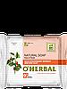 Натуральное мыло с экстрактом лесной земляники и красной глиной 100 г O'Herbal