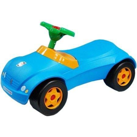 Машинка для катання МЕРСИК блакитний