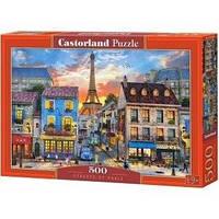 Пазлы Castorland 500 эл. Улицы Парижа