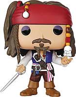 Фигурка Funko POP Captain Jack Sparrow - Pirates of the Caribbean (172)  9.6 см