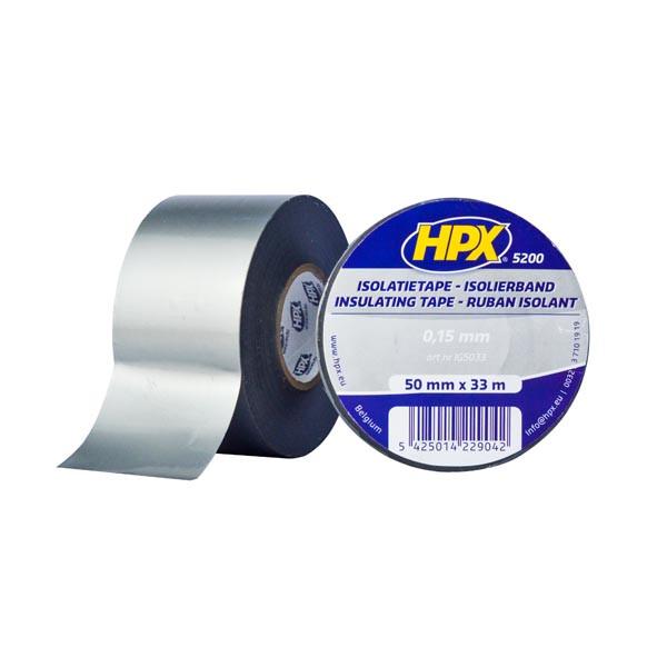 Профессиональная изоляционная лента HPX 5200 - 50мм x 33м - серая