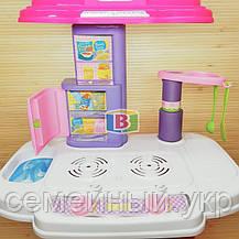 """Детский игровой набор """"Моя кухня"""". Световые и звуковые эффекты. Для детей от 3 лет. LIMO TOY 16641G, фото 3"""