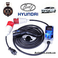 Зарядное устройство для электромобиля Hyundai IONIQ Electric AutoEco J1772-32A-Wi-Fi, фото 1
