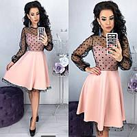 Платье Нью Лук розового цвета (5 цветов) 42-44, 46-48 р.