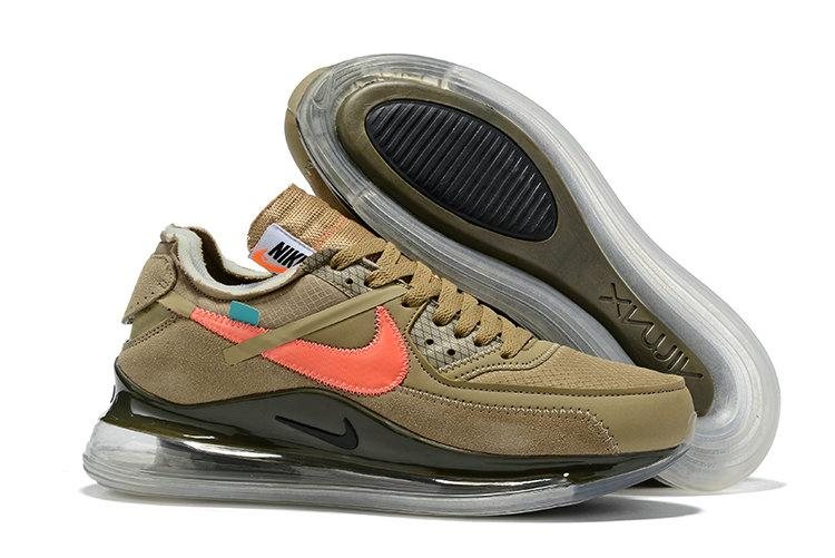 "Кроссовки Nike Air Max 720\90 x Off-White ""Зеленые"""