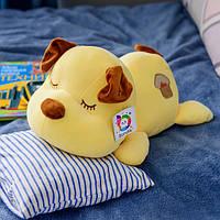Милая собачка сплюшка BONDIK BN 103 42см Желтый (BN-103)
