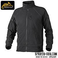 Куртка флісова Helikon-Tex ALPHA TACTICAL - Чорна