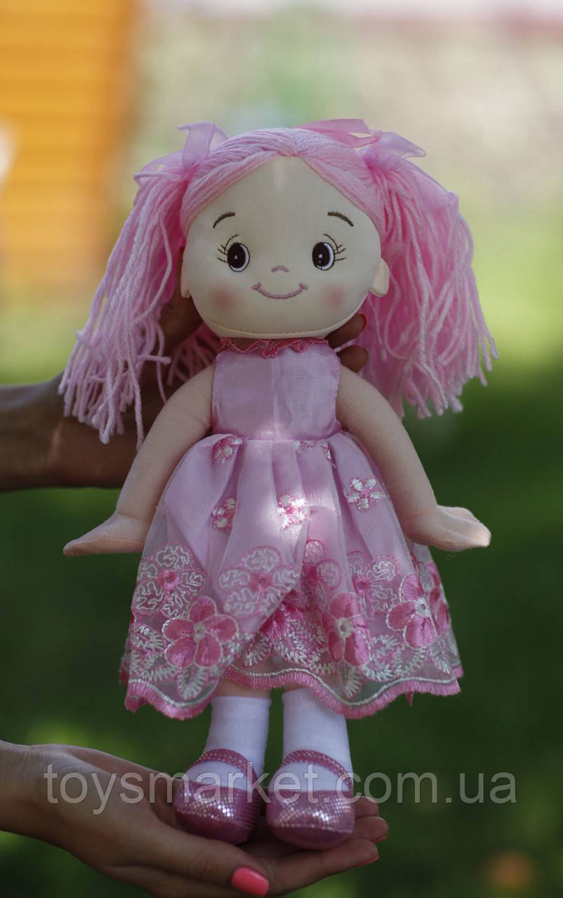 "Мягкая кукла ""Иринка"", плюшевая кукла, куколка, 35 см"