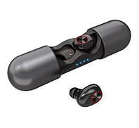 Бездротові Bluetooth-навушники Alitek V8 TWS Stereo Чорні