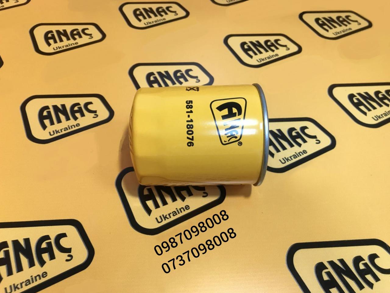Фильтр трансмиссии для КПП на JCB 3CX, 4CX 581/18076, 581/M7013, 581/M8564, 32/915500, 581/R2034