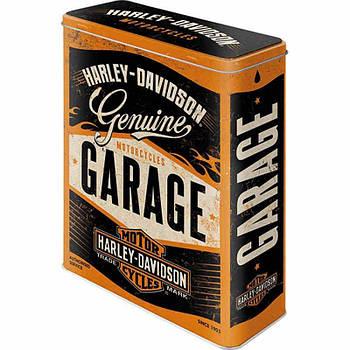 Коробка для хранения Nostalgic-Art Harley Davidson Genuine Garage XL (30321)