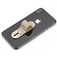 ➤Держатель для смартфона Momostick Pear (A-PE-02) Gold гибкий мобильный аксессуар момостик