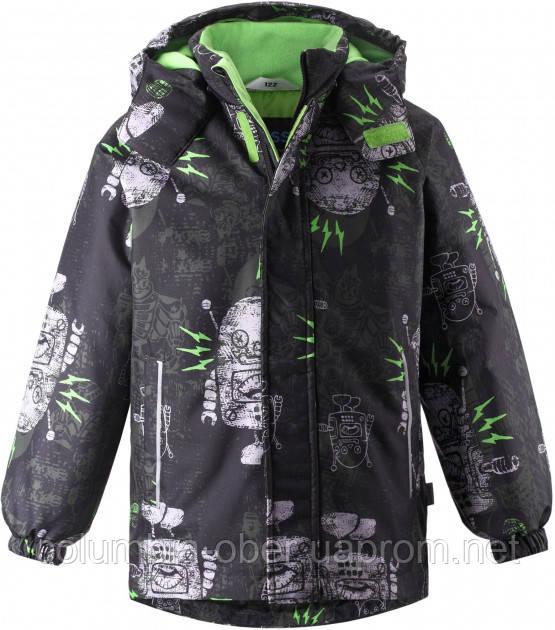 Зимняя куртка для мальчика Lassie by Reima Juksu 721733.9-841A. Размеры 92 - 116.
