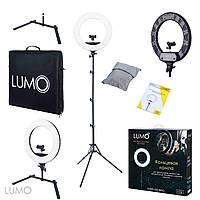 Кольцевая лампа LUMO SLIM NEW™ | 100 Ватт | Кольцевой свет для визажиста, макияжа, фото и видео