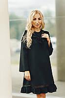 Красивое черное  женское платье