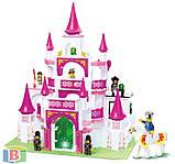 """Детский конструктор  """"Замок принцессы"""". Деталей 508 шт. Для детей с 6 лет. M38-B0151 SLUBAN, фото 3"""