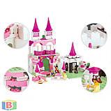 """Детский конструктор  """"Замок принцессы"""". Деталей 508 шт. Для детей с 6 лет. M38-B0151 SLUBAN, фото 5"""