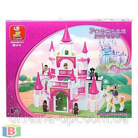 """Детский конструктор  """"Замок принцессы"""". Деталей 508 шт. Для детей с 6 лет. M38-B0151 SLUBAN"""