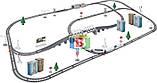 Детская железная дорога. Работает на батарейках. Размер в собранном виде: 98.5х170 см. 2181, фото 2