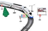 Детская железная дорога. Работает на батарейках. Размер в собранном виде: 98.5х170 см. 2181, фото 3