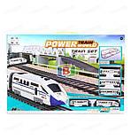 Детская железная дорога. Работает на батарейках. Размер в собранном виде: 98.5х170 см. 2181, фото 5