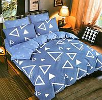 Комплект постельного белья двуспальный Евро Комбинированный Сатин Фабричная Турция Цены от производителя