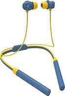 Беспроводные наушники Bluedio Беспроводные Bluetooth наушники Bluedio TN2 с шейным ободом и активным шумодавом (Синий) SKU_552