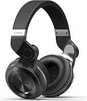 Беспроводные наушники Bluedio Беспроводные Bluetooth наушники Bluedio T2 Plus со встроенным радио (Черный) SKU_8