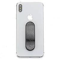 ◯Держатель для смартфона Momostick Pear (A-PE-02) Black гибкий сдвижной охват одним пальцем, фото 2