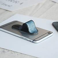☟Держатель для телефона Momostick Denim (A-DE-01) Blue подставка для портативных устройст на палец, фото 4