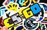 Набор виниловых наклеек Counter-Strike CS:GO 25шт., фото 5