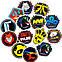 Набор виниловых наклеек Counter-Strike CS:GO 25шт., фото 8