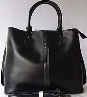 Женская сумка из натуральной кожи Чёрная