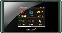 3G модем ZTE 3G/4G модем и wifi router ZTE 305ZT с сенсорным дисплеем (Черный) SKU_519
