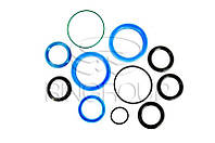 Р/к Г/ц выноса тяговой рамы ДЗ-122А-6 (манжеты шевронные резиновые и полиуретановые) (6040п)
