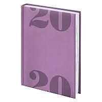 Ежедневник карманный датированный Brunnen 2020 Torino Trend, А6, 10 x 14 см, лавандовый