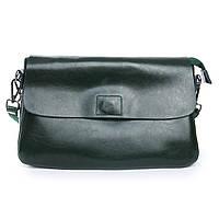 Женская сумка кожаная зеленая Alex Rai