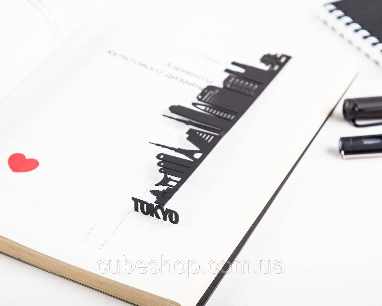 Закладка для книг Tokyo