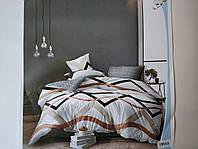 Постельное белье полисатин двуспальный евро ELWAY EW068